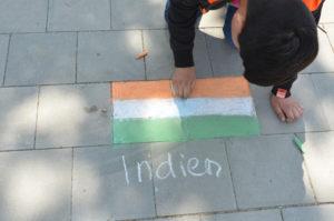indienflagge stadtteilschule stellingen