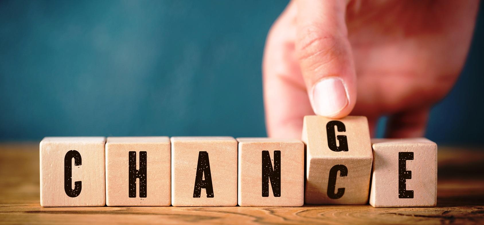 Change = Chance