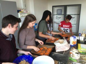 gemeinsames kochen durch united culture bridge
