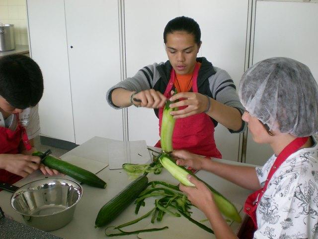 Grünes Essen