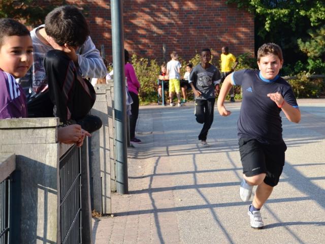 Schüler in Bewegung bringen