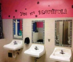 Schul-Toiletten