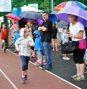 Laufen trotz Regen