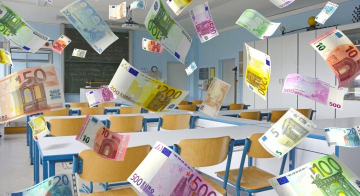 Geldregen für Schulen