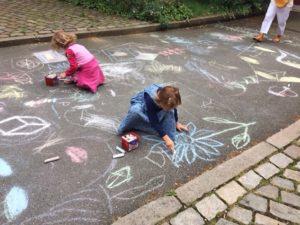 Streetart in der Lichtwarkschule