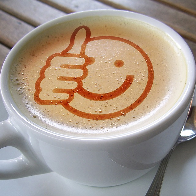 Tasse Kaffee smile