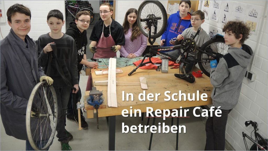 Schüler-Reperaturwerkstatt