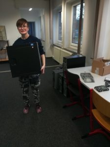 Computer Raum Gesamtschule Finow