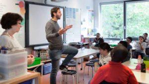 Timmy im Unterricht