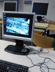 Computer mit Speil