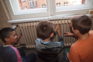 fleißige Schüler Andersen Grundschule