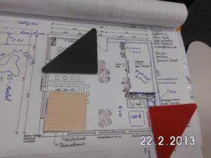 Skizze des neuen Raums