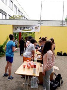 versorgungststation sponsorenlauf sambergerstraße