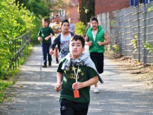 fleißige läufer sponsorenlauf