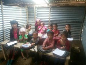 soziales fundraising projekt an schule für nepal
