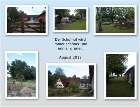 August 2013 Schulhof