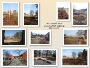 März 2012 Schulhof
