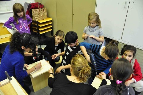 Fleißige Helfer Richard Grundschule