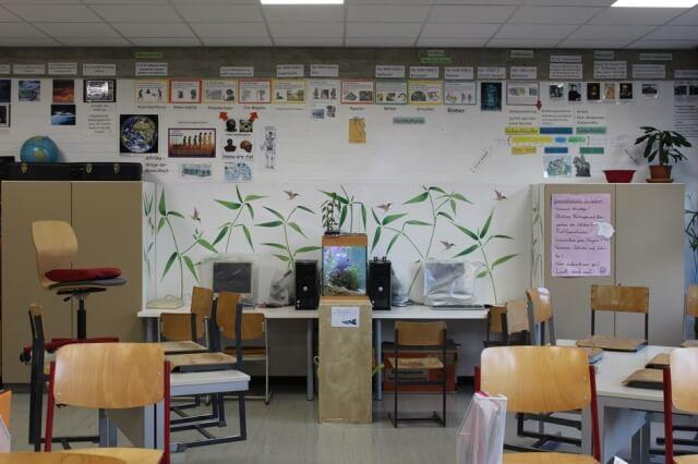 Grundschule Zorneding mit renoviertem Klassenzimmer