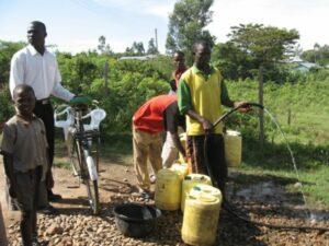 Dorf in Kenia für dasdie Ganztagsschule Denksteinweg Spenden gesammelt hat