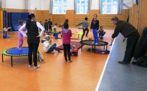 Events für Flüchtlinge durch die Stadtteilschule Wilhelmsburg