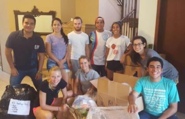 Durch den Lauf der Schüler des Schulzentrums Raron kommen erste Hilfen in Ecuador an