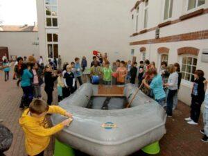 Projekt Woche der Katholische Schule Harburg zum Thema H²O