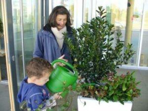 Gartenneugestaltung erfolgreich abgeschlossen an der Grundschule Lamme