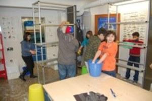 Die Schüler der Katholische Schule Harburg In Aktion
