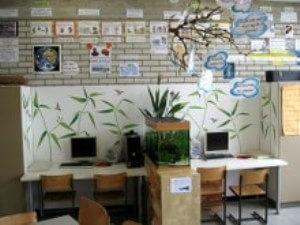 Das Klassenzimmer der Schüler der Grundschule Zorneding ist renoviert