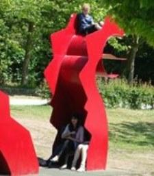 Das Marienthaler Drachenfest-bespielbare Skulptur