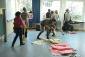 Schüler bereiten die Renovierung vor