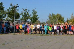 Berlin: Sponsorenlauf der Grundschule am Hohen Feld