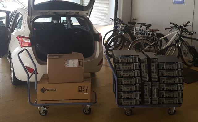 Neue Terminal- PCs für die Lehrer der Montessori Schule Dietzenbach