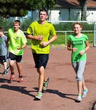 Sponsorenlauf an der Petri-Schule in Schwarnbeck