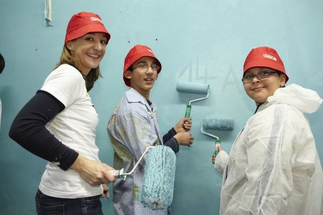 Marckmannschule Klassenraum renovieren
