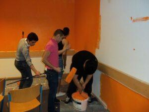 Stadtteilschule Am Hafen, Standort Neustadt Klassenraum renovieren Header