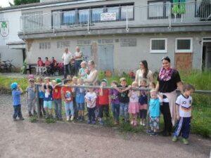 Wiesengrundschule Sponsorenlauf