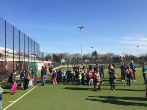 Sponsorenlauf der Grundschule Döhrnstraße