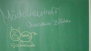 künstleriche Freiheit an der Oberschule Böhlen während der Projektwoche