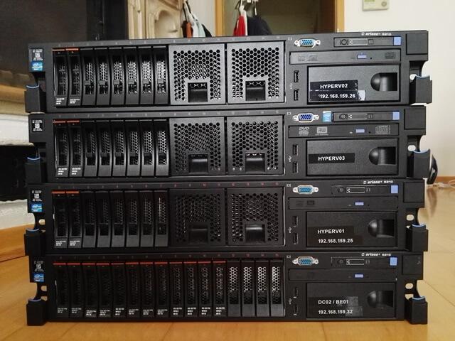 Server Spende für Schulen