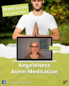 Angeleitete Atem-Meditation