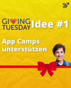 App Camps - Giving Tuesday