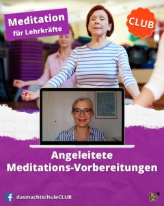 angeleitete Meditationsvorbereitung
