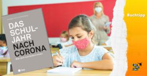 Mädchen mit Maske im Unterricht