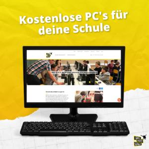 Kostenlose PC's für deine Schule