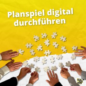 Planspiel digital durchführen