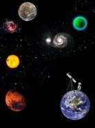 Reise durch die Galaxis- Stopmotion Trickfilm