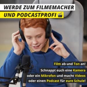 210416_Werde zum Filmemacher und Podcastprofi!_quadrat