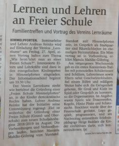 Stader Tageblatt 18.04.2018